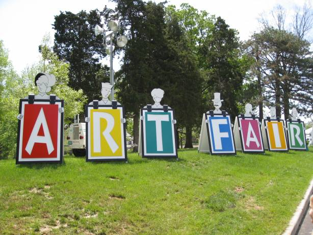 art-fair sign