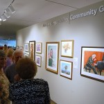 Suburban art sprawl: Marilyn Hillery Wall Dedicated at Pearl Fincher Museum of Fine Arts