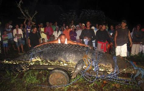 philippines killer crocodile