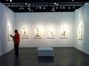 Vincent Valdez drawing suite at David Shelton