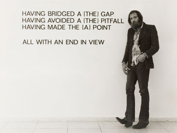 Lawrence Weiner, 1975