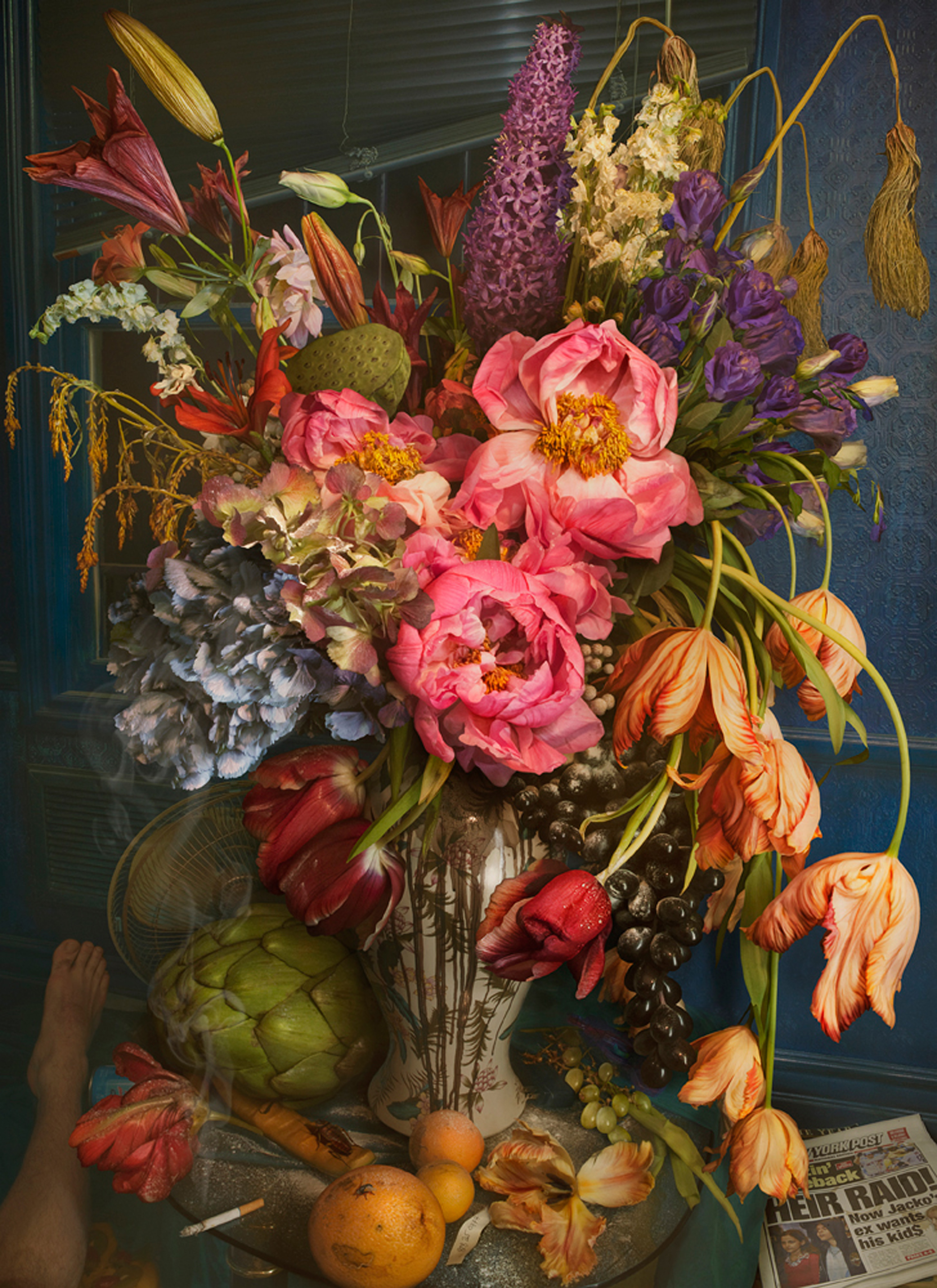 """Wilting Gossip,"" David LaChapelle, 2011, Chromogenic Print.  Fred Torres Collaborations New York"