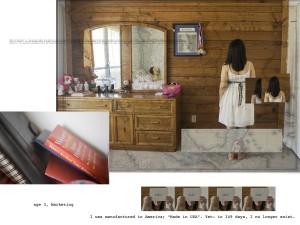 """Age 3, Marketing,""  Archival giclée print 30""x40"", 2010"