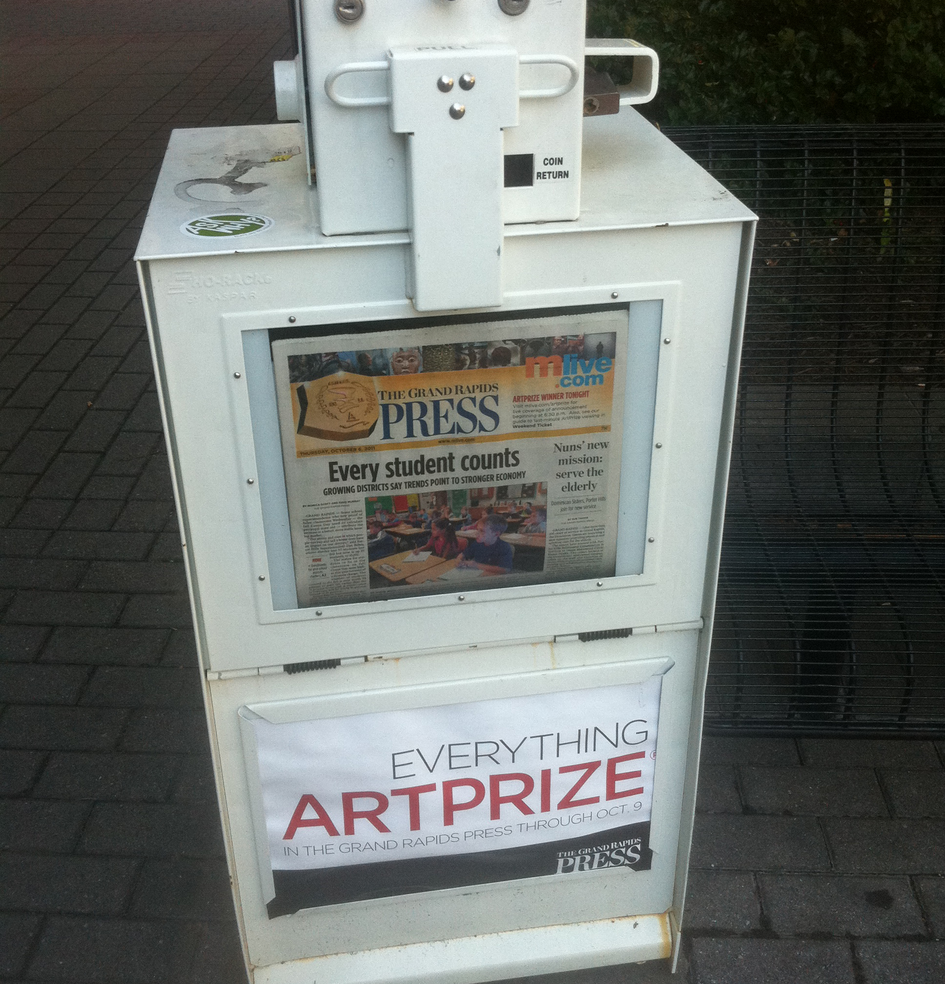 artprize news box