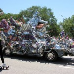 Art Car Apostle Rebecca Bass Spreads the Word to Chattanooga: Parade Set for April 2012