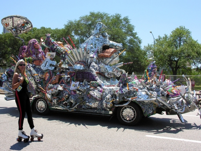 chatanooga art_car