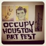 Insta-curating: World's Shortest Art Show Turnaround at Occupy Houston