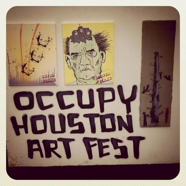 occupy houston art