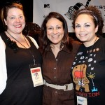 Me, Troublemaker Producer Elizabeth Avellan, and Mariella Sonam Perez at AFF, courtesy of Slackerwood, photo by Debbie Cerda