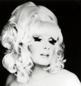 "Lady Bunny. A friend who objects to drag asserts that she doesn't represent gay men, and that he can ""field-dress a deer in 15 minutes."" Maybe she can too, but his point is well-taken."