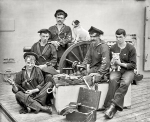 Sewing Sailors