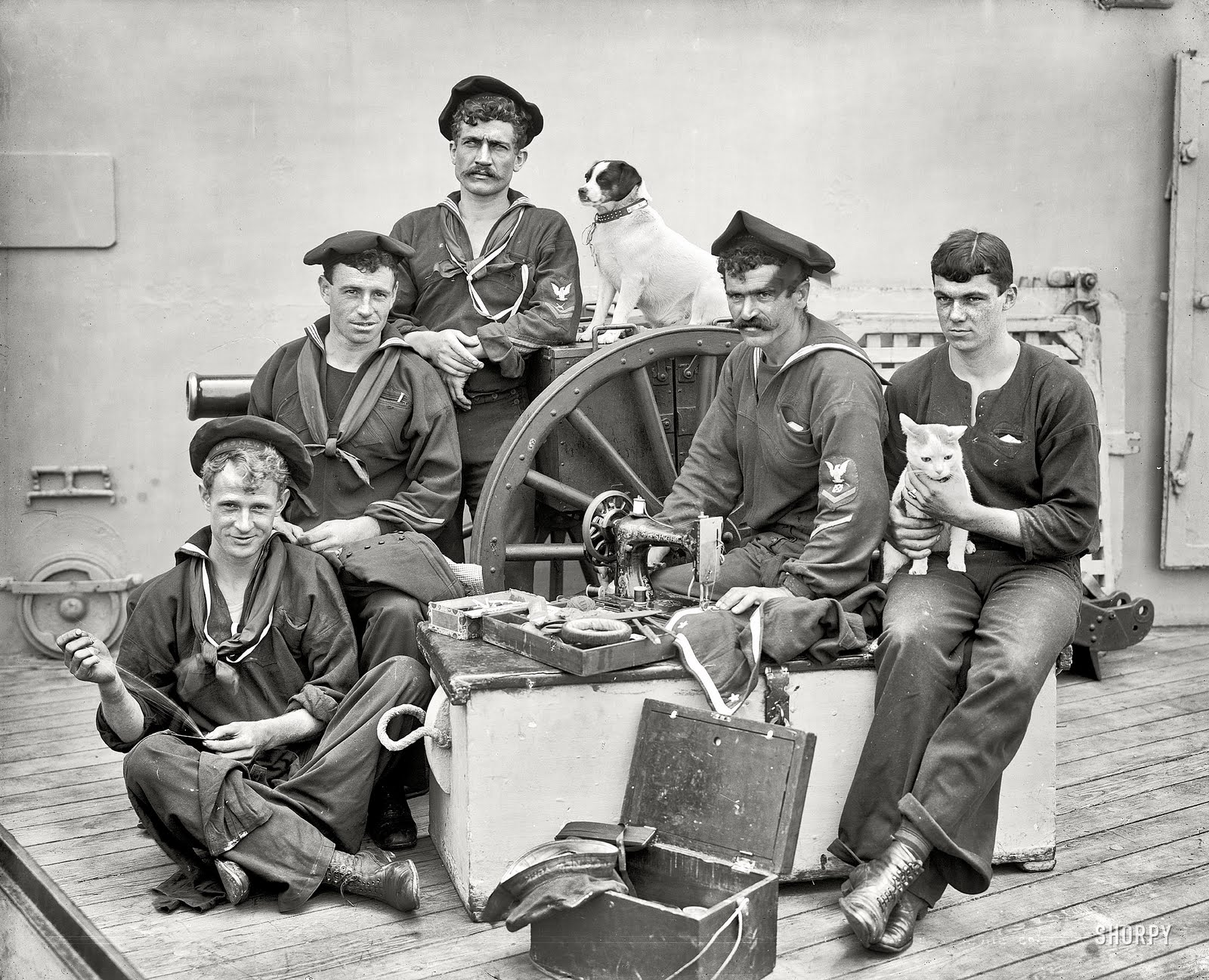 Sewing Sailors