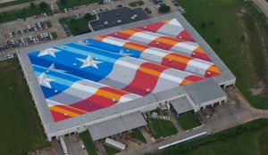 loBaido largest flag