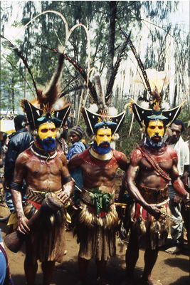 new guinea men