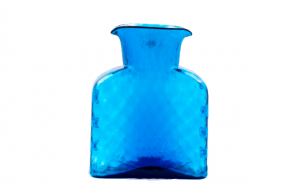 Blenko Diamond Optic Carafe. Give the discerning design buffs on your list this classic from one of the great American glass firms. $47 @ the Blanton Shop, Austin