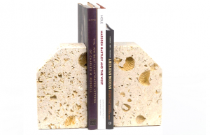 Texas Shellstone Bookends. $87.50 @ the Amon Carter Museum