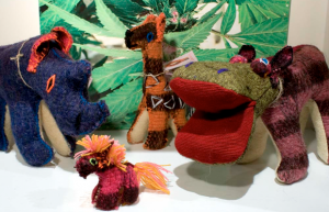 """Little Wooleys Toys. """"The Chamula Indians of southern Mexico are given at birth a soul companion, who shares for a lifetime every stroke of fate of its human counterpart...   These beautiful animals are uniquely hand crafted by a young Chamulan girl named Angelica, and her sister. Native to Chiapas, the spend their time perfecting the craft that has been passed down for generations."""" $10 - $32 @ The MAC, Dallas"""