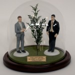 AGMAP Porcelain Wedding Cake Topper, edition of 12