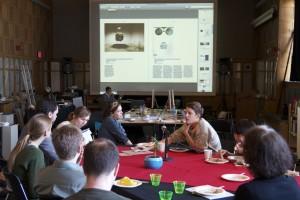 NA/SA book sprint at STUDIO for Creative Inquiry. Photo: Jonathan Minard.