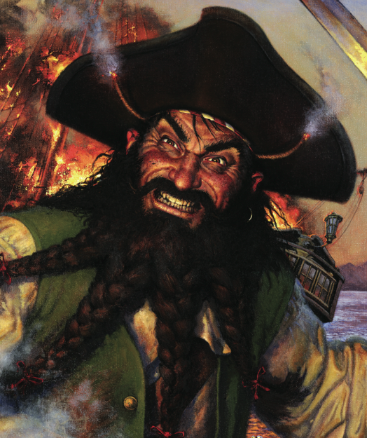 Pirated pirate image