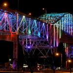 Corpus Christi Harbor Bridge Alight! New Permanent LED Installation Unveiled and Ready for Programming