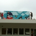 ACK! for XMAS: New Noodle Mural Enlivens Houston's 19th St.