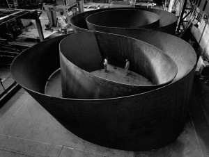 "Actual Richard Serra, ""Sequence."""
