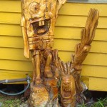 Boyd Blog Draws Galveston Stump Map, Calls for Houston Tree Carvers