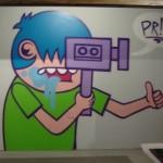 ACK! salutes Luster at Artcrawl