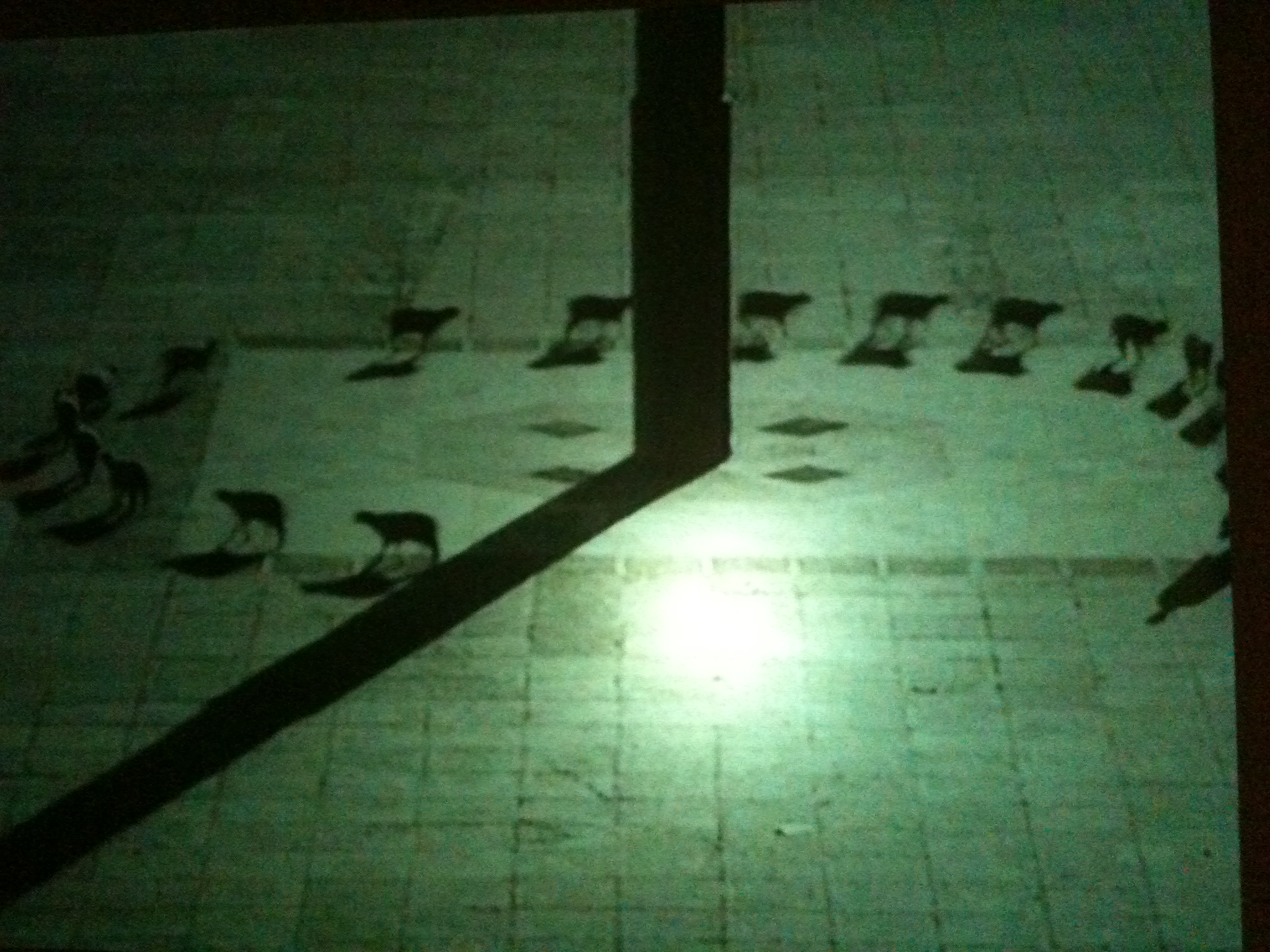 Cuentos Patrioticos, by Francis Alys, a video created by the artist in 1997 as a response to the 1968 upheaval, and on view in the commemorative exhibition at UNAM's art museum in Tlateloco