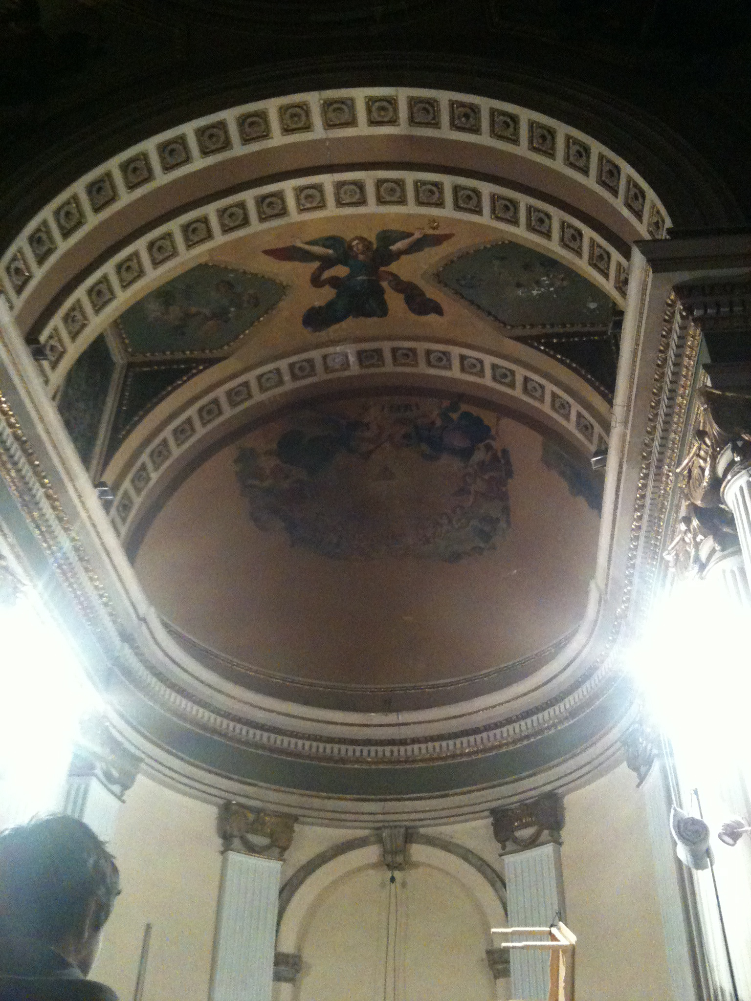 Dome of the Ex Teresa.