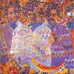"Wadsworth Jarrell, ""Liberation Soldiers"", 1972"