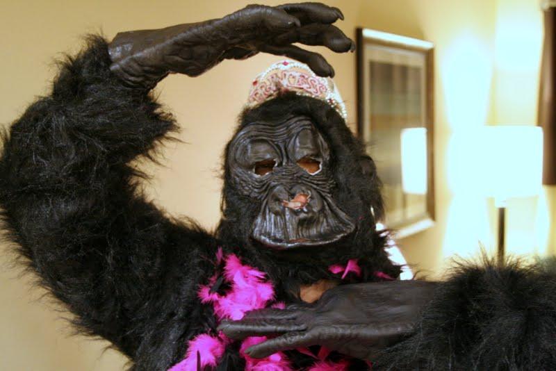 gorilla tiara
