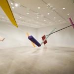 Joel Shapiro, New Installation, 2012, Rice University Art Gallery, Photo: Nash Baker