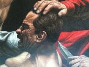 """""""Beheading"""" detail"""