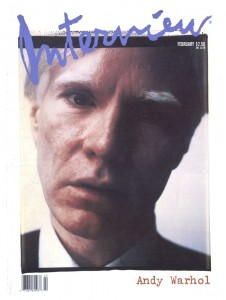 interview magazine remembering andy