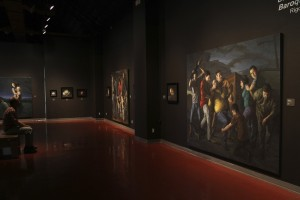 """Baroque on the Border"" installation view in Las Cruces, NM"