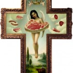 "Mark Ryden, ""Angel of Meat,"" from The Meat Show, 1998"