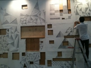 Pablo Rasgado, Installation view