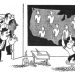 Shifting Perspectives: Anti-Prejudice Cartoons and Air Age Cartography
