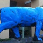 Blue Tiger in Conroe: Memorial Vandalized Overnight