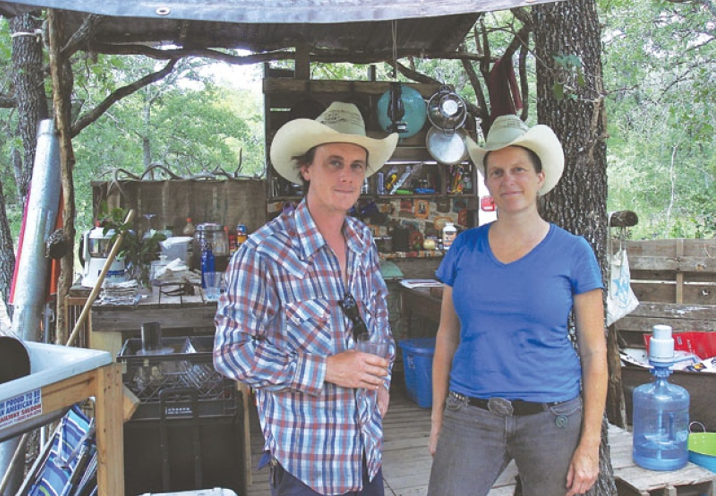 Habitable Spaces' founders Shane Heinemeier and Alison Ward. Photo by Scott Andrews