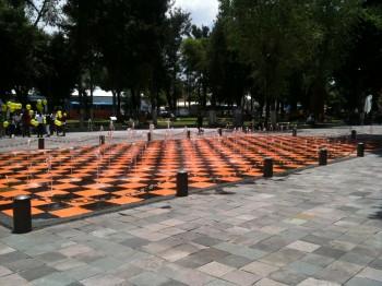 Public art piece, Puebla, Mexico