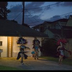 Driveway performance by Danza Azteca Taxcayolotl