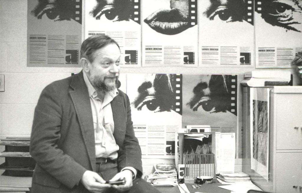 Amos Vogel, founder of Cinema 16, courtesy Northwest Chicago Film Society