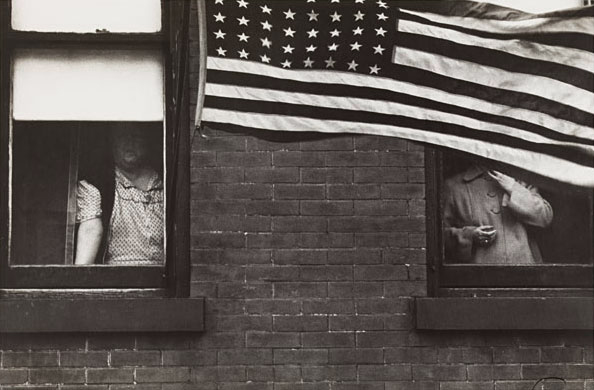 Robert Frank , Parade, Hoboken, New Jersey, from the series The Americans, 1955–1956.