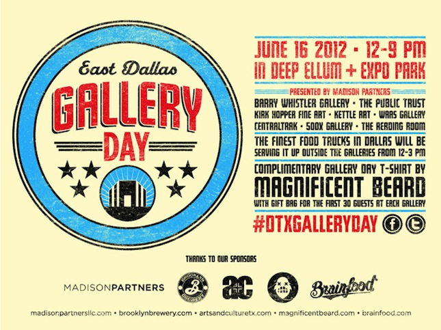 East Dallas Gallery Day Saturday