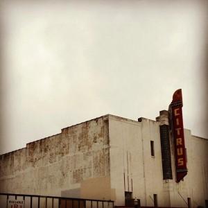 Beautiful old movie house in Edinburg, Hidalgo County.