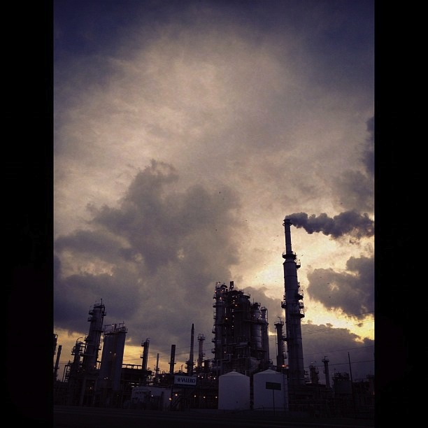 Valero refinery, Three Rivers. Live Oak County.