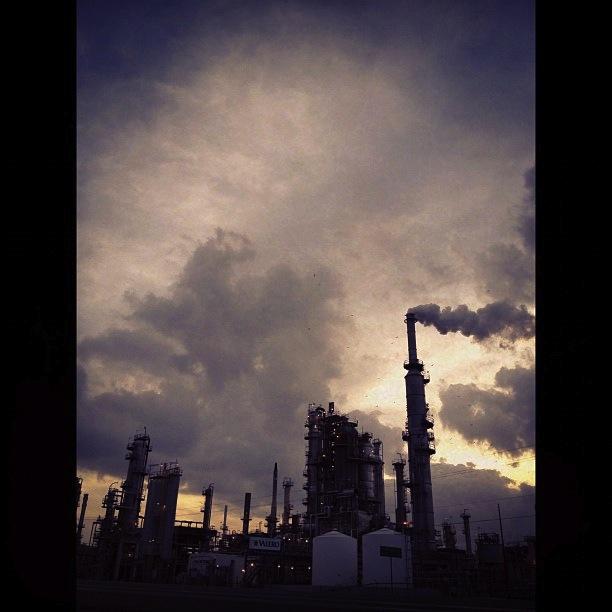 Valero refinery, Three Rivers. Live Oak County.